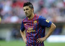 Barcellona: Villa di nuovo in campo