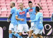 Serie A: Napoli-Siena, gol e highlights. Video