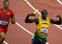 Atletica: Usain Bolt in visita da Blatter