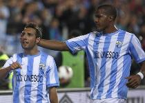 Malaga in crisi: via Cazorla e Rondon