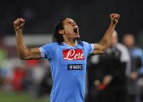 Napoli, i gol più belli di Cavani. Video