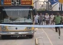 Bolt show: sfida un autobus a Buenos Aires. Video
