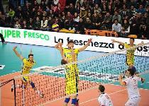 Volley, SuperLega: Modena travolge Milano