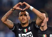Serie A: super Vidal, la Juventus stende la Lazio