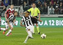 Serie A: un rigore di Vidal affossa il Milan