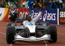Atletica, Bolt: un giro di pista in F1. Video