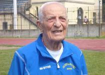 Lancio del peso: l'impresa del centenario Mario Riboni