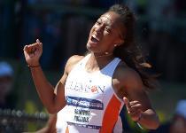 Atletica: 100 ostacoli, Brianna Rollins da record