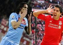 Dalla Spagna: dubbio Real, Cavani o Suarez?