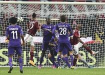 Serie A: Milan scarico, la Fiorentina ringrazia