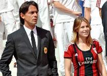 Milan: voci su flirt Barbara-Inzaghi. I due: