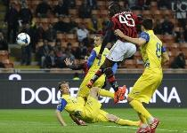 Serie A: Milan-Chievo 3-0, gol e highlights. Video