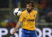 Juventus: tegola Pirlo, stop di un mese