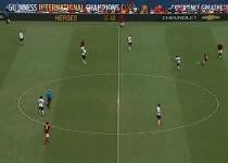 Roma: Pjanic, gol pazzesco allo United. Video