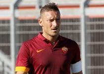 Amichevoli: Totti show, la Roma fa cinquina