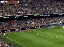 Valencia-Milan: Honda, corner disastroso. Video