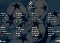 Champions: Juventus con l'Atletico, Roma nel girone di ferro