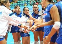 World Grand Prix: Italia determinata, 3-0 alla Thailandia