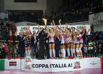 Volley femminile, Coppa Italia: Novara-Modena 3-1, gli highlights. Video