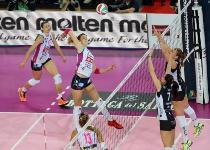 Volley, A1 femminile: urlo Novara, batte Modena e scappa