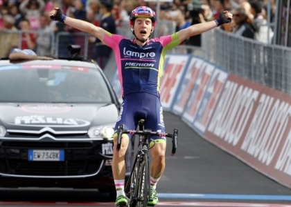 Giro d'Italia 2017, 4a tappa: vince Polanc