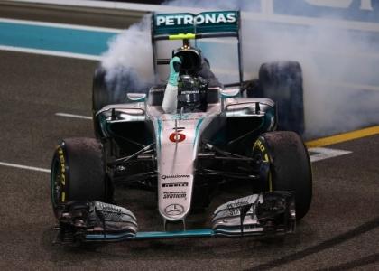 Abu Dhabi, Rosberg in lacrime: