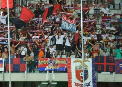 Catania-Casertana 1-0: Mazzarani regala la settima…