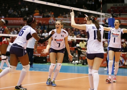 Volley, Italia travolge R. Dominicana 3-0 a preolimpico donne