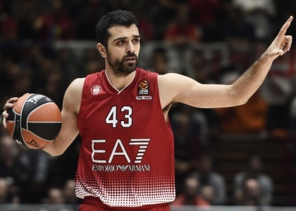 Basket: finalmente un sorriso per l'Olimpia Milano, battuto il Galatasaray un Eurolega