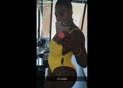 Serena Williams la campionessa di tennis è in dolce attesa