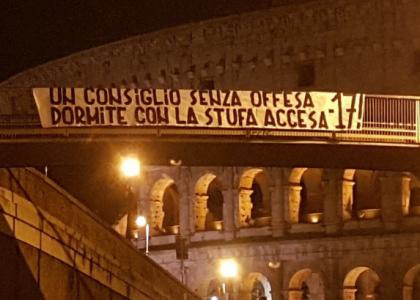 Manichini al Colosseo, la risposta giallorossa: