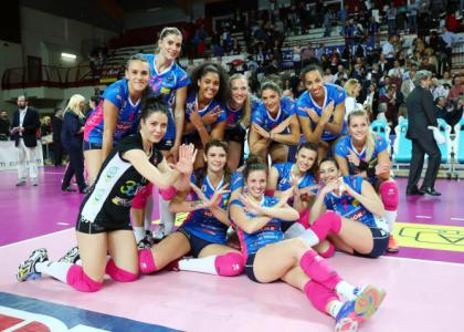 Finale Scudetto Lega Volley femminile: Novara pareggia la serie con Modena