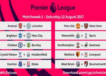 Chelsea Calendario.Premier League 2017 18 Svelato Il Calendario Si Parte Il