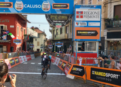 Moscon re della cronometro, è campione italiano