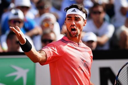 US Open 2017: prima volta agli ottavi di Lorenzi, Fognini multato