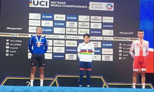 Mondiale ciclismo: Tom Dumoulin oro nella crono