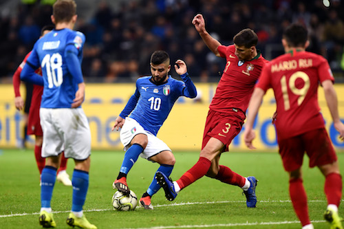 Nations League, Italia-Portogallo 0-0