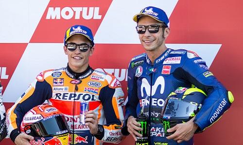 MotoGP, Malesia: pole per Marquez, Rossi è terzo