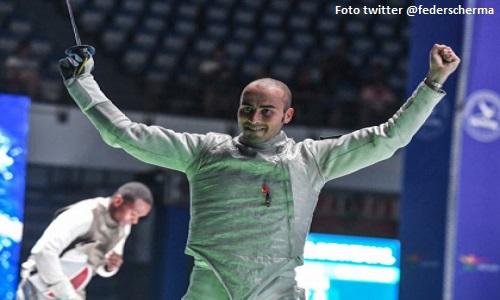 Scherma, maschi: doppietta Italia a San Pietroburgo, 28° vittoria per Cassarà