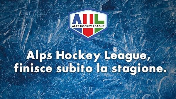 UFFICIALE - La Alps Hockey League ha terminato la stagione