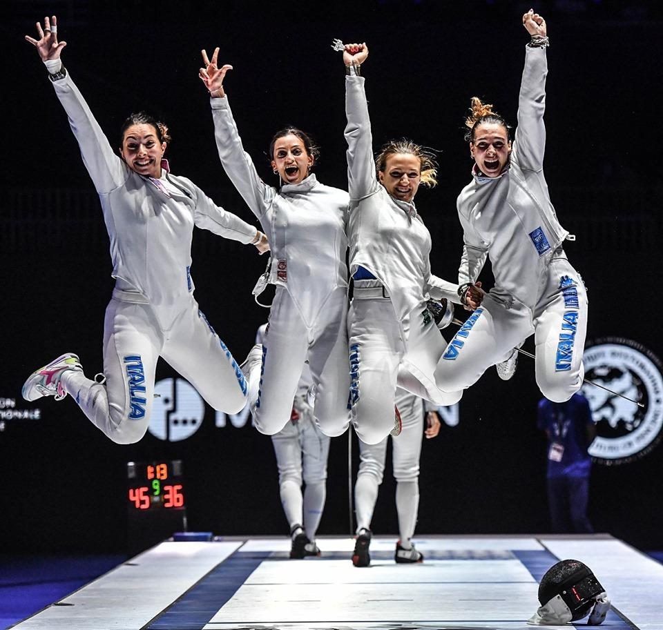 Scherma, Mondiali Budapest 2019: altri due bronzi per l'Italia
