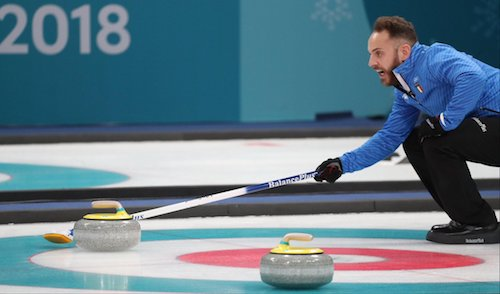 Curling, Italia di bronzo agli Europei