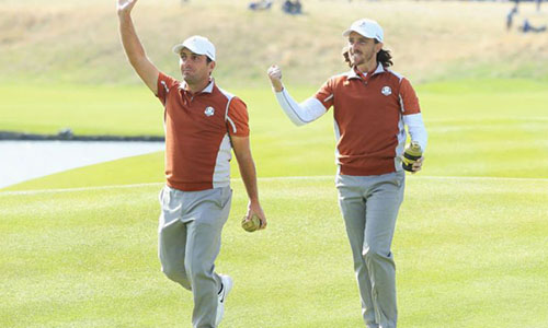 Ryder Cup all'Europa, Francesco Molinari da record