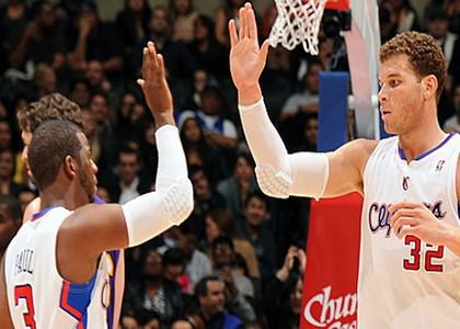 Nba: bis Clippers, cadono i Knicks
