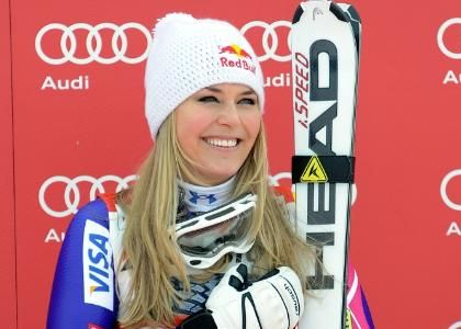 Sci, Discesa Lake Louise: Vonn implacabile, quarta Nadia Fanchini