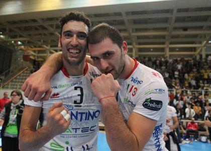 Volley, SuperLega: festa Trento, è campione d'Italia