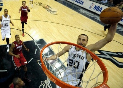 Nba, Finals: Ginobili da applausi, Spurs avanti 3-2
