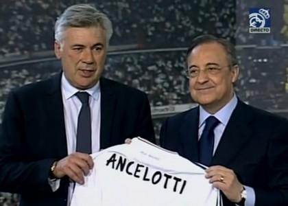 Real Madrid, ecco Ancelotti: