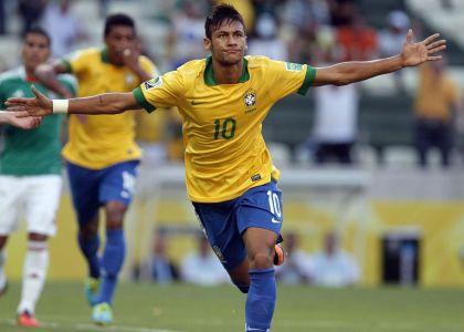 Brasile 2014, amichevoli: Neymar show, il Brasile cala il poker