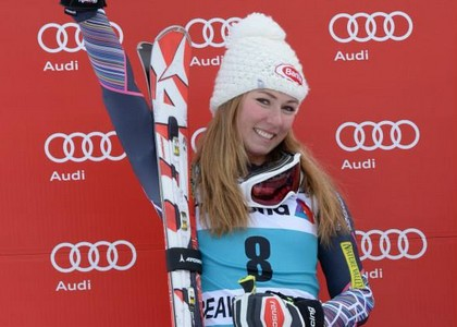 Sci, Slalom Sestriere: Shiffrin implacabile, azzurre in calo